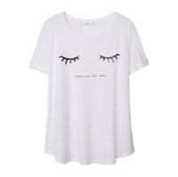 Mango Glitter Print T-Shirt